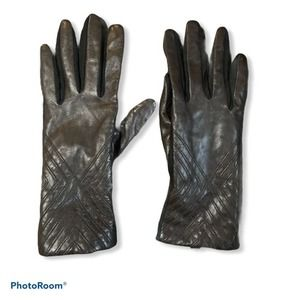 Fownes brother brown genuine leather gloves S